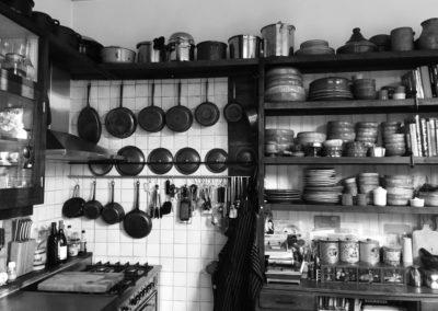 rustiek eiken keukenkast