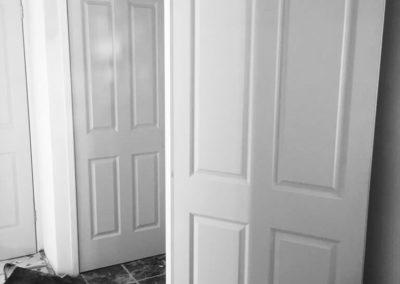 afhangen deur