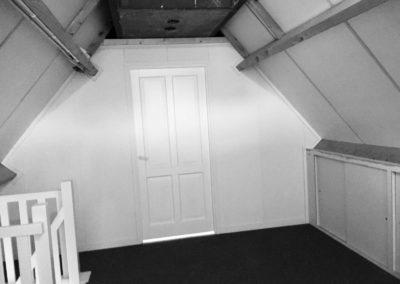 zolderkamer met plafond creëren op zolder